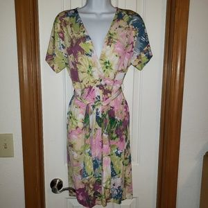 BCBG 'Avery' Floral Dress